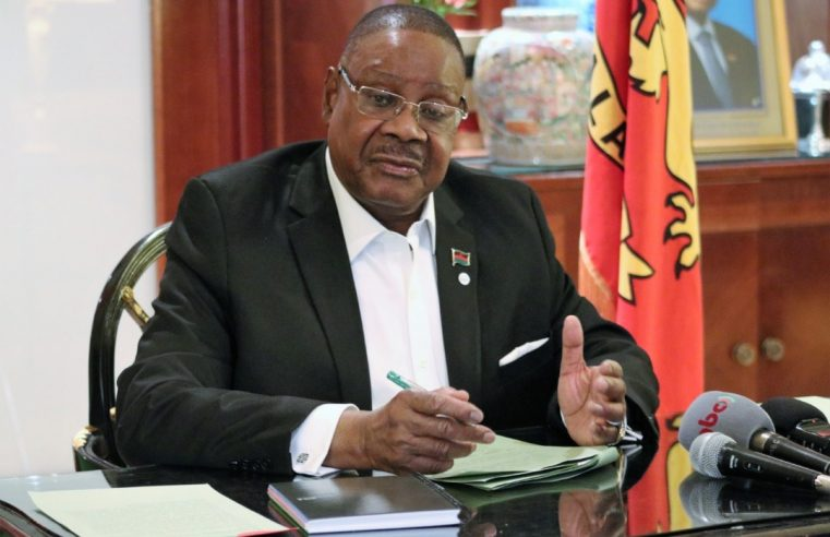 'President Mutharika overbuys Cement for personal use'